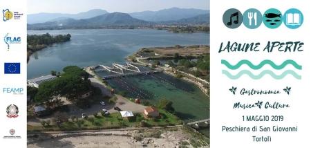 Lagune aperte il 1° maggio alla peschiera San Giovanni