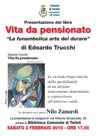 Presentazione del libro 'Vita da pensionato' di Edoardo Trucchi