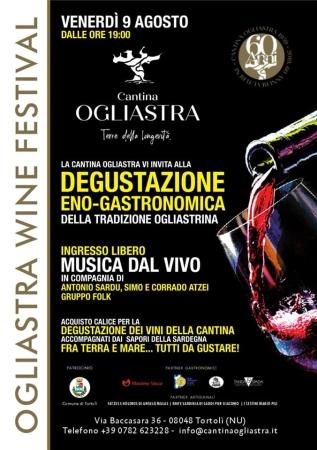 Al via la prima edizione dell'Ogliastra Wine Festival