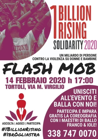 One Billion Rising, flashmob contro la violenza di genere