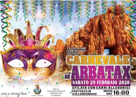 Carnevale 2020 ad Arbatax