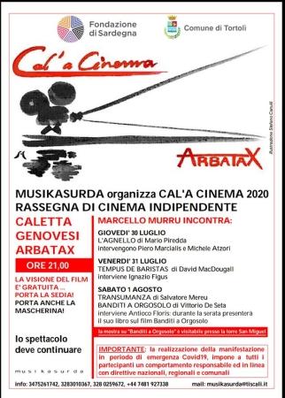Via alla rassegna cinematografica Cal'a Cinema