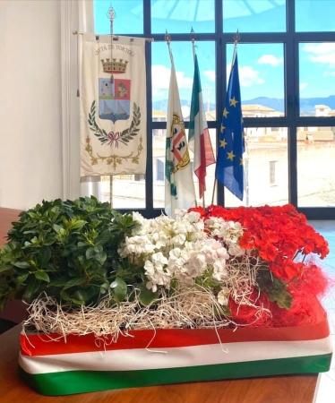 25 Aprile, un piccolo omaggio in Comune per celebrare la Festa della Liberazione